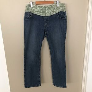 OLD NAVY Maternity Jeans with Fabric Band No Zips